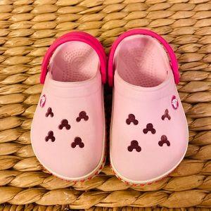 Crocs toddler girl's slip on shoes